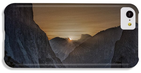 Sunburst Yosemite IPhone 5c Case by Bill Roberts