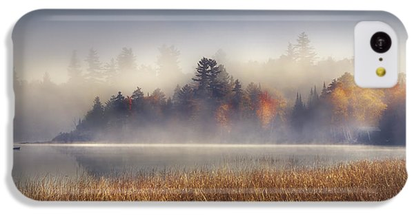 Sunrise In Lake Placid  IPhone 5c Case by Magda  Bognar