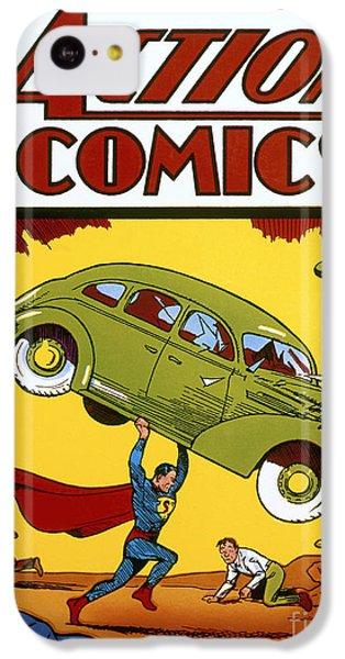 Superman Comic Book, 1938 IPhone 5c Case by Granger