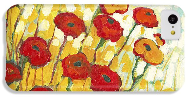 Surrounded In Gold IPhone 5c Case by Jennifer Lommers