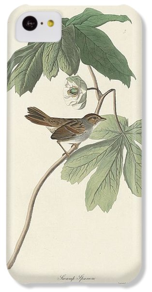 Swamp Sparrow IPhone 5c Case by John James Audubon