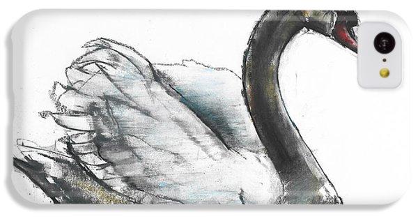 Swan IPhone 5c Case by Mark Adlington
