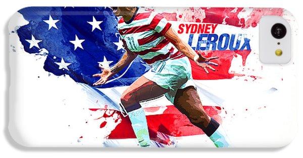 Sydney Leroux IPhone 5c Case by Semih Yurdabak