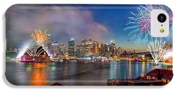 Sydney Sparkles IPhone 5c Case by Az Jackson