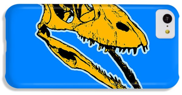 T-rex Graphic IPhone 5c Case by Pixel  Chimp