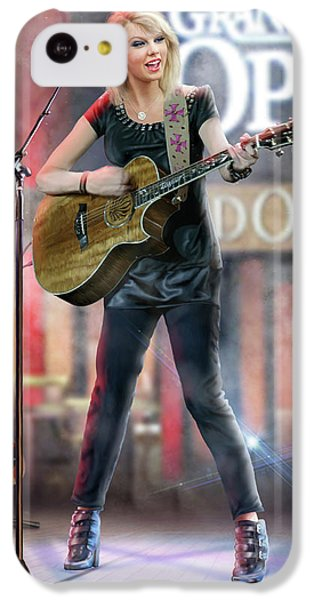 Taylor At The Opry IPhone 5c Case by Don Olea