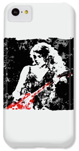 Taylor Swift 90c IPhone 5c Case by Brian Reaves