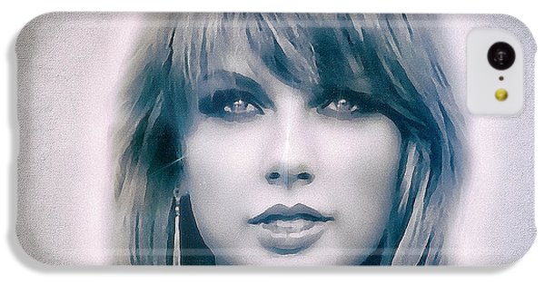 Taylor Swift - Beautiful IPhone 5c Case by Robert Radmore