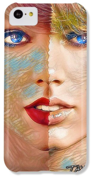 Taylor Swift - Blended Perfection IPhone 5c Case by Robert Radmore