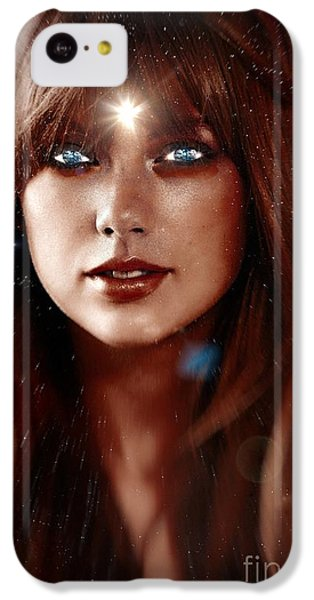 Taylor Swift - Goddess IPhone 5c Case by Robert Radmore