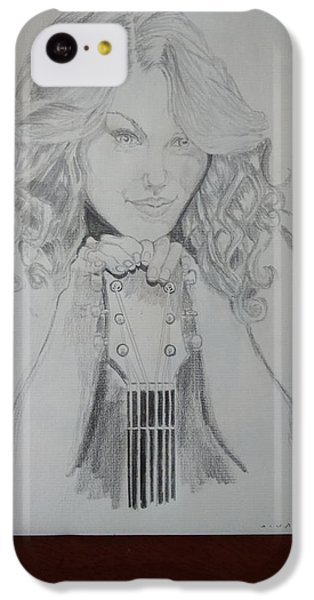Taylor Swift IPhone 5c Case by Jiyad Mohammed nasser