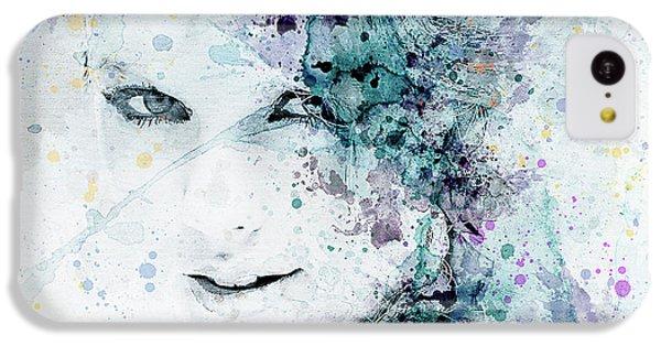 Taylor Swift IPhone 5c Case by JW Digital Art