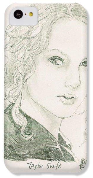 Taylor Swift IPhone 5c Case by Renee Kilburn