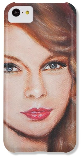 Taylor Swift  IPhone 5c Case by Ronnie Melvin