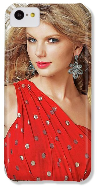 Taylor Swift IPhone 5c Case by Twinkle Mehta