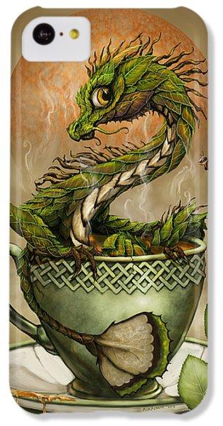 Tea Dragon IPhone 5c Case by Stanley Morrison