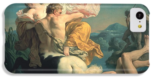 The Abduction Of Deianeira By The Centaur Nessus IPhone 5c Case by Louis Jean Francois Lagrenee