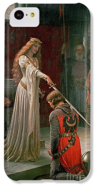 The Accolade IPhone 5c Case by Edmund Blair Leighton