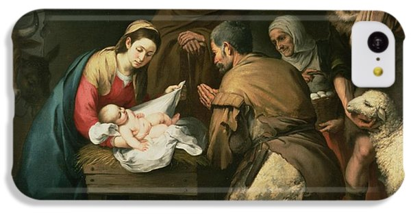 The Adoration Of The Shepherds IPhone 5c Case by Bartolome Esteban Murillo