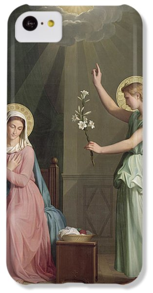 The Annunciation IPhone 5c Case by Auguste Pichon