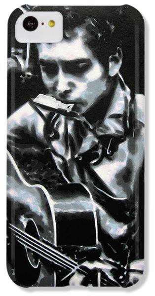 The Answer My Friend Is Blowin In The Wind IPhone 5c Case by Luis Ludzska