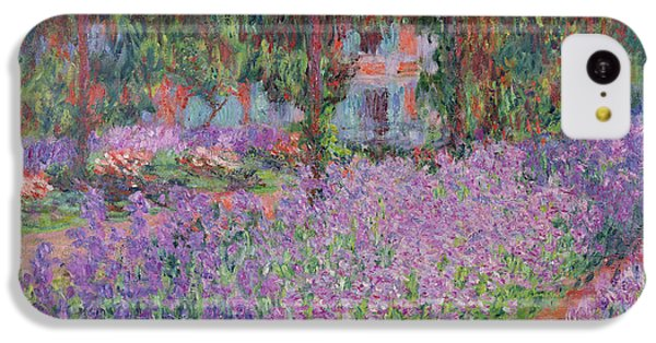 The Artists Garden At Giverny IPhone 5c Case by Claude Monet