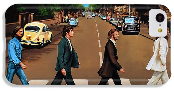 The Beatles Abbey Road IPhone 5c Case by Paul Meijering