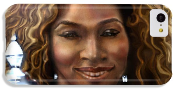 The Beauty Victory That Is Serena IPhone 5c Case by Reggie Duffie