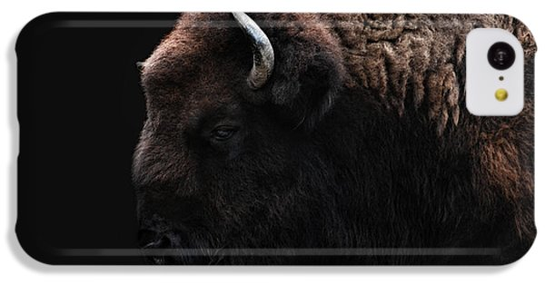 The Bison IPhone 5c Case by Joachim G Pinkawa