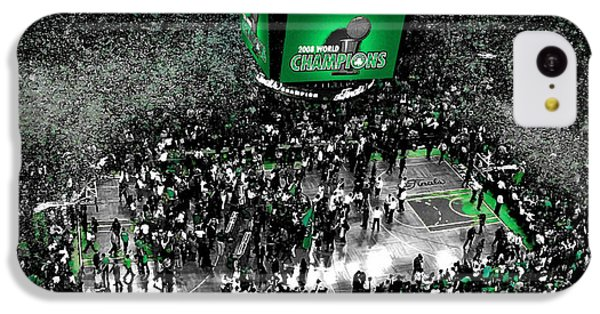 The Boston Celtics 2008 Nba Finals IPhone 5c Case by Brian Reaves