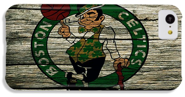 The Boston Celtics 2w IPhone 5c Case by Brian Reaves
