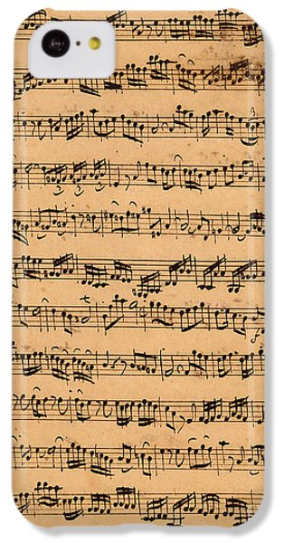 The Brandenburger Concertos IPhone 5c Case by Johann Sebastian Bach