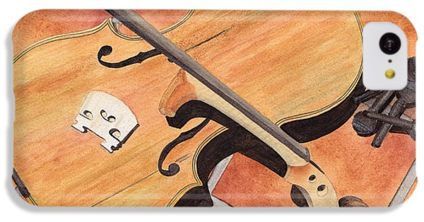 The Broken Violin IPhone 5c Case by Ken Powers