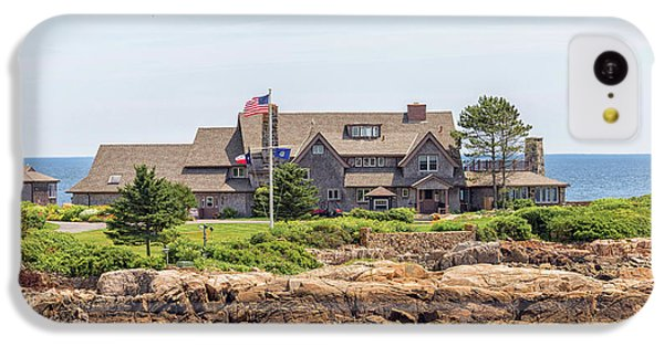 The Bush Family Compound On Walkers Point IPhone 5c Case by Brian MacLean