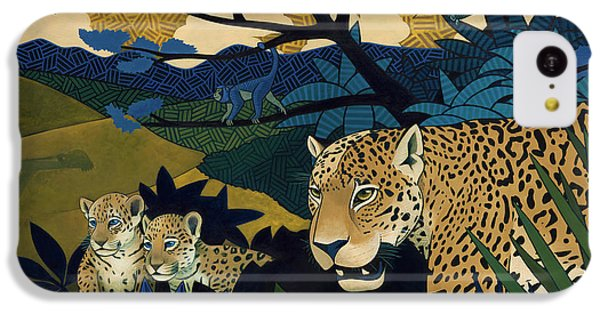 The Edge Of Paradise IPhone 5c Case by Nathan Miller