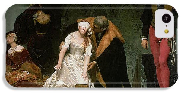 The Execution Of Lady Jane Grey IPhone 5c Case by Hippolyte Delaroche