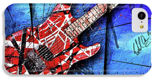 The Frankenstrat Vii Cropped IPhone 5c Case by Gary Bodnar