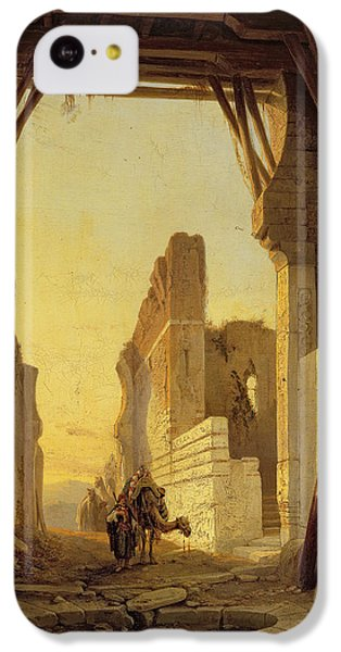 The Gates Of El Geber In Morocco IPhone 5c Case by Francois Antoine Bossuet