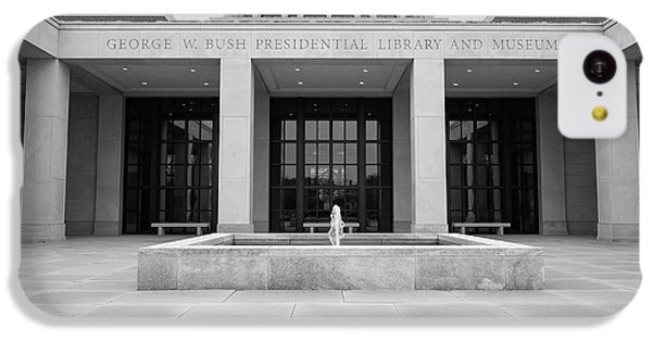 The George W. Bush Presidential Library And Museum  IPhone 5c Case by Robert Bellomy