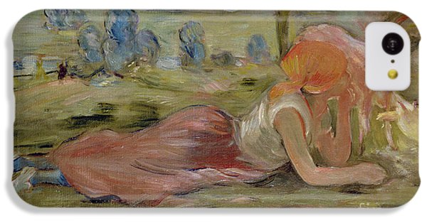 The Goatherd IPhone 5c Case by Berthe Morisot
