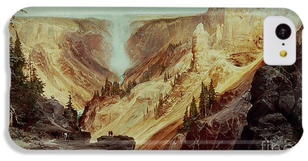 The Grand Canyon Of The Yellowstone IPhone 5c Case by Thomas Moran