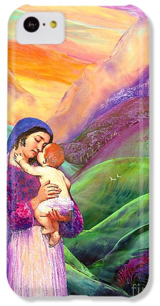 Virgin Mary And Baby Jesus, The Greatest Gift IPhone 5c Case by Jane Small