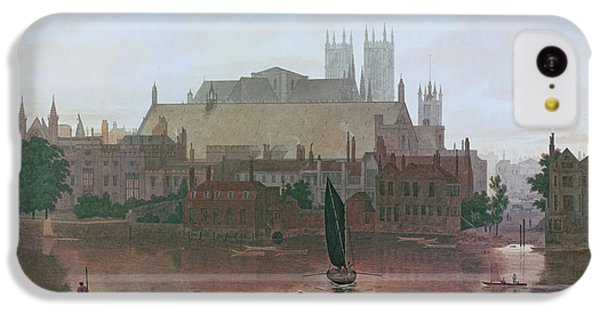 The Houses Of Parliament IPhone 5c Case by George Fennel Robson
