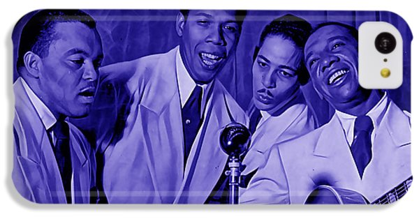 The Ink Spots Collection IPhone 5c Case by Marvin Blaine