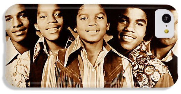 The Jackson 5 Collection IPhone 5c Case by Marvin Blaine