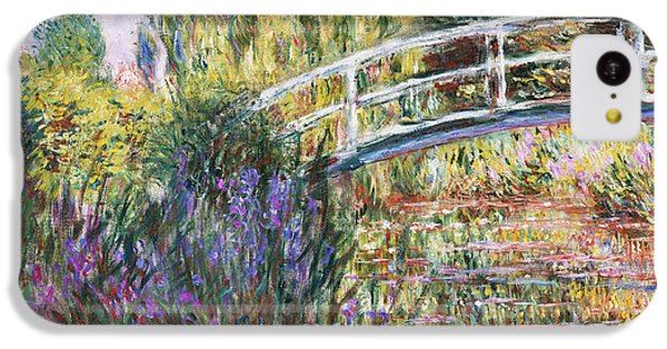 The Japanese Bridge IPhone 5c Case by Claude Monet
