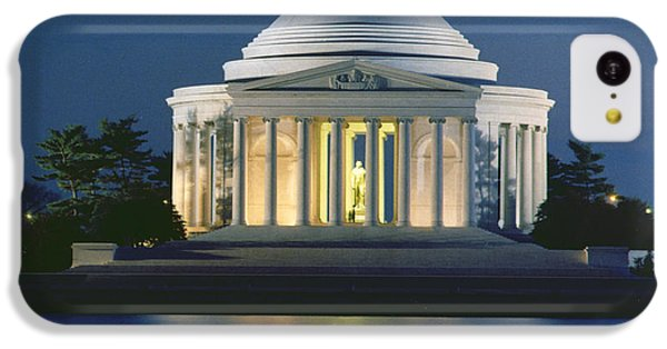 The Jefferson Memorial IPhone 5c Case by Peter Newark American Pictures