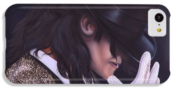 The King Of Pop IPhone 5c Case by Darren Robinson