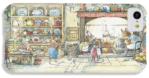 The Kitchen At Crabapple Cottage IPhone 5c Case by Brambly Hedge