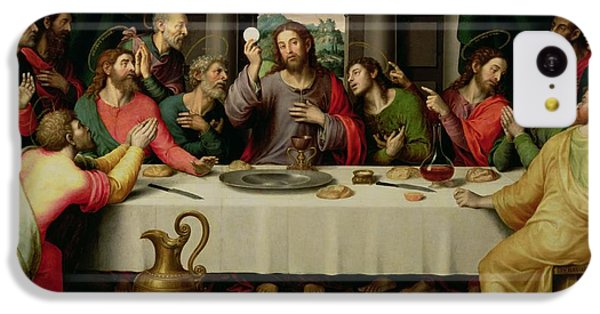 The Last Supper IPhone 5c Case by Vicente Juan Macip